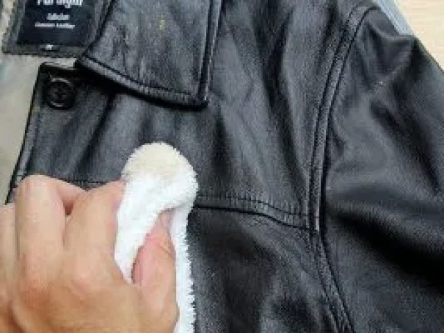 Image result for cleaning leather jacket