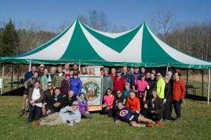 Volunteer and Sunday Runner Group (photo by Ciorsdan Conran)