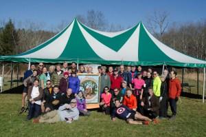 Volunteer and Sunday Runner Group (photo by Ciorsdan Conran)