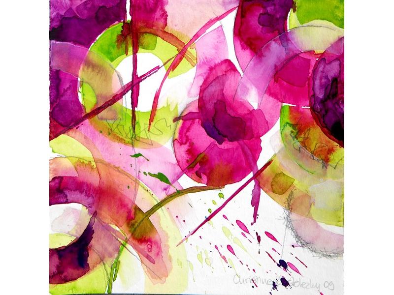 Christine Kostelezky: Circles Montan 1