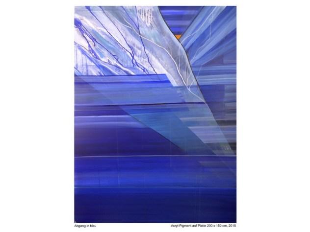 Wolfgang Schmidberger: Abgang in Blau