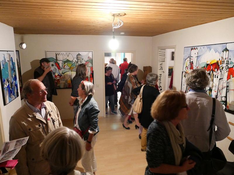 Ravensburg-Weingartener Kunstverein, Kunstnacht 2016 Räuberhöhle, Foto Made Höld