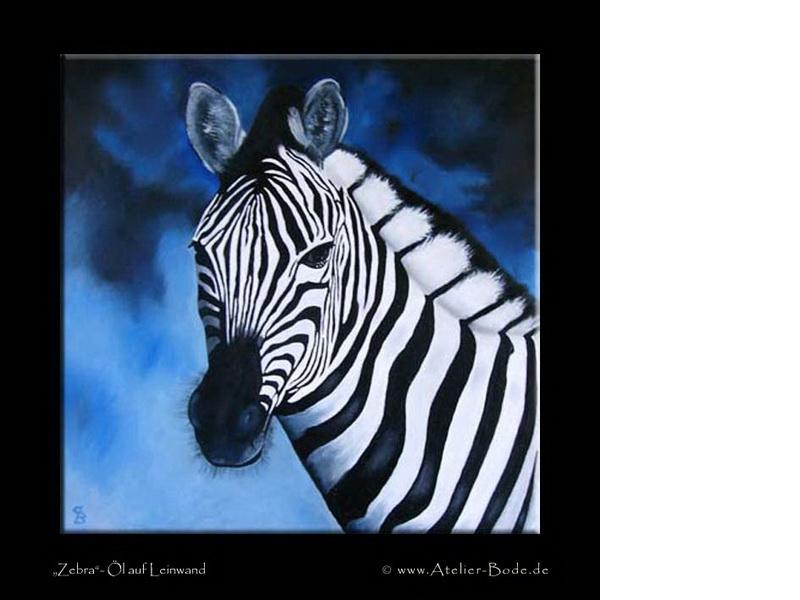 Zebra A - Claudia Bode