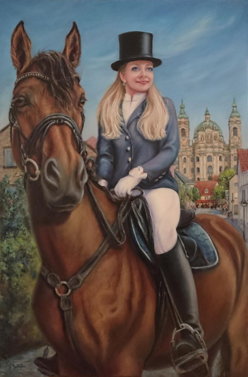Galyna Schaefer: Reiterin 2020
