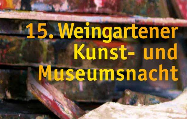Titel :15. Weingartener Kunst- und Museumsnacht