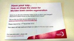 More Morden leaflet
