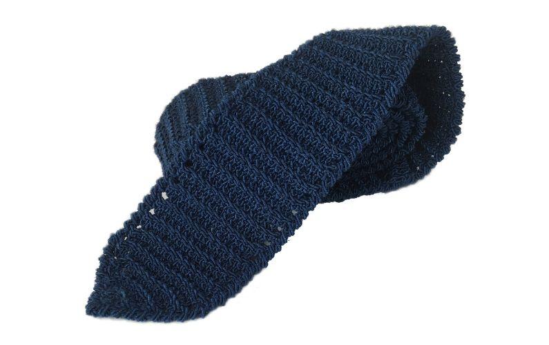 Crocheted Necktie