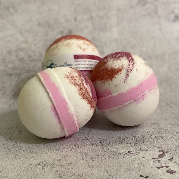 Candy Cane Ribbons Bath Bombs