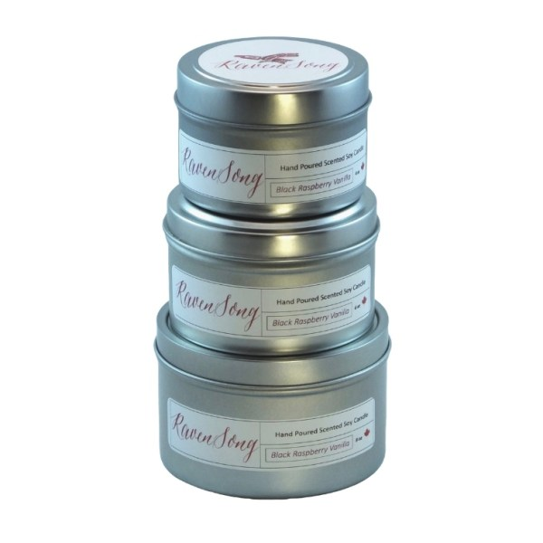 Travel Candle Trio Stack