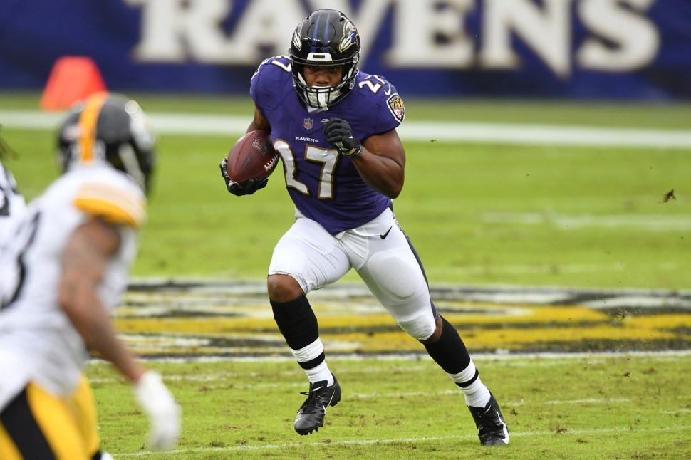 Baltimore Ravens vs Pittsburgh Steelers: J.K. Dobbins, Mark Ingram out