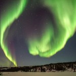 Northern lights, aurora, Yellowknife, Canada