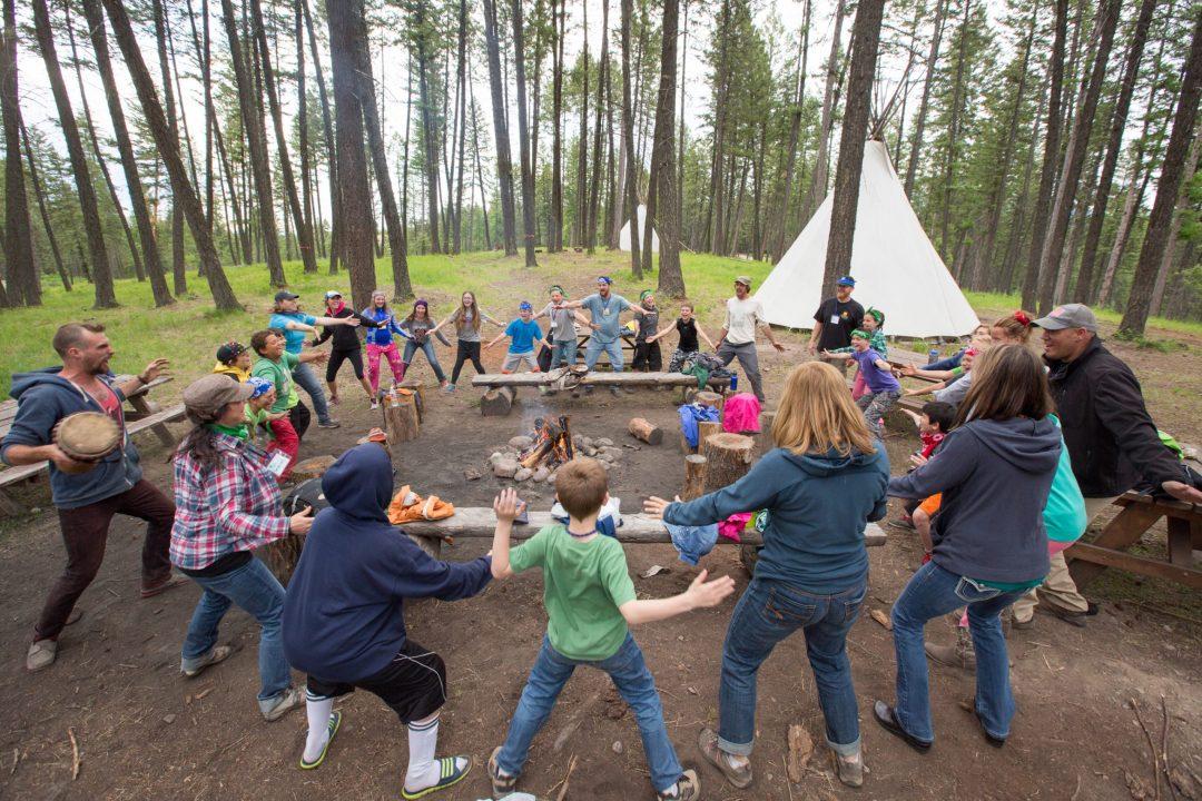 Ravenwood.nature.camp.kids.circle.games