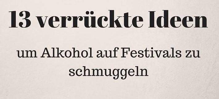 Festival-Alkohol