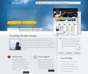 My products premium WordPress theme for business from elegant themes
