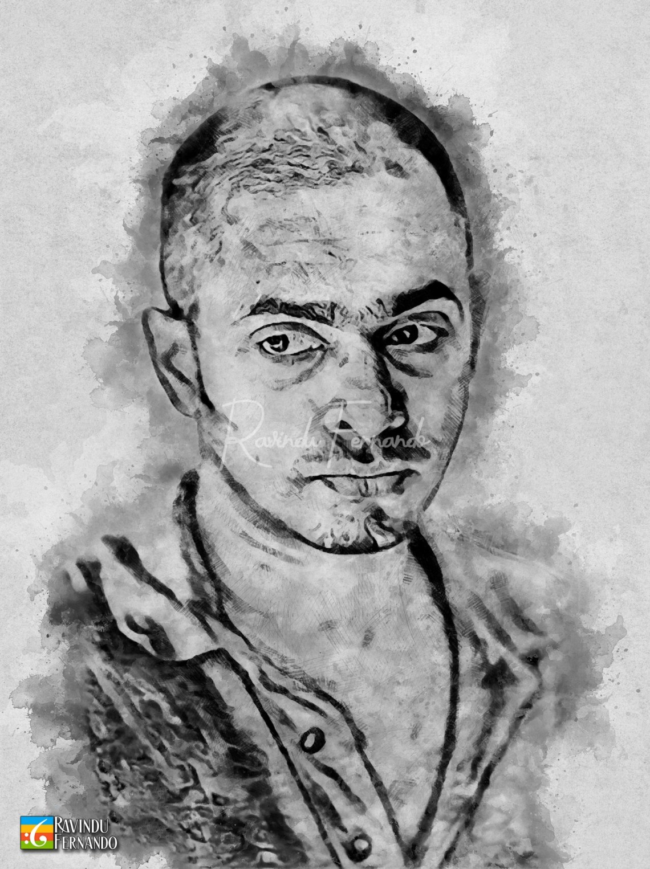Satyajith Maitipe - Digital Watercolor Painting