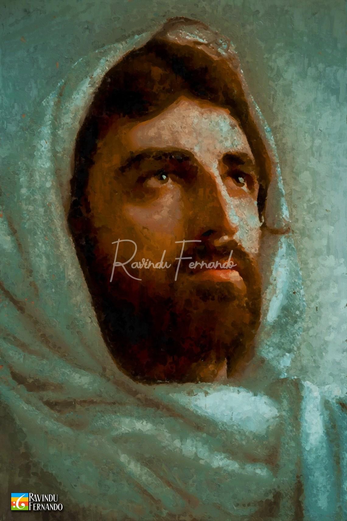 Jesus - Digital Oil Painting By Ravindu Fernando