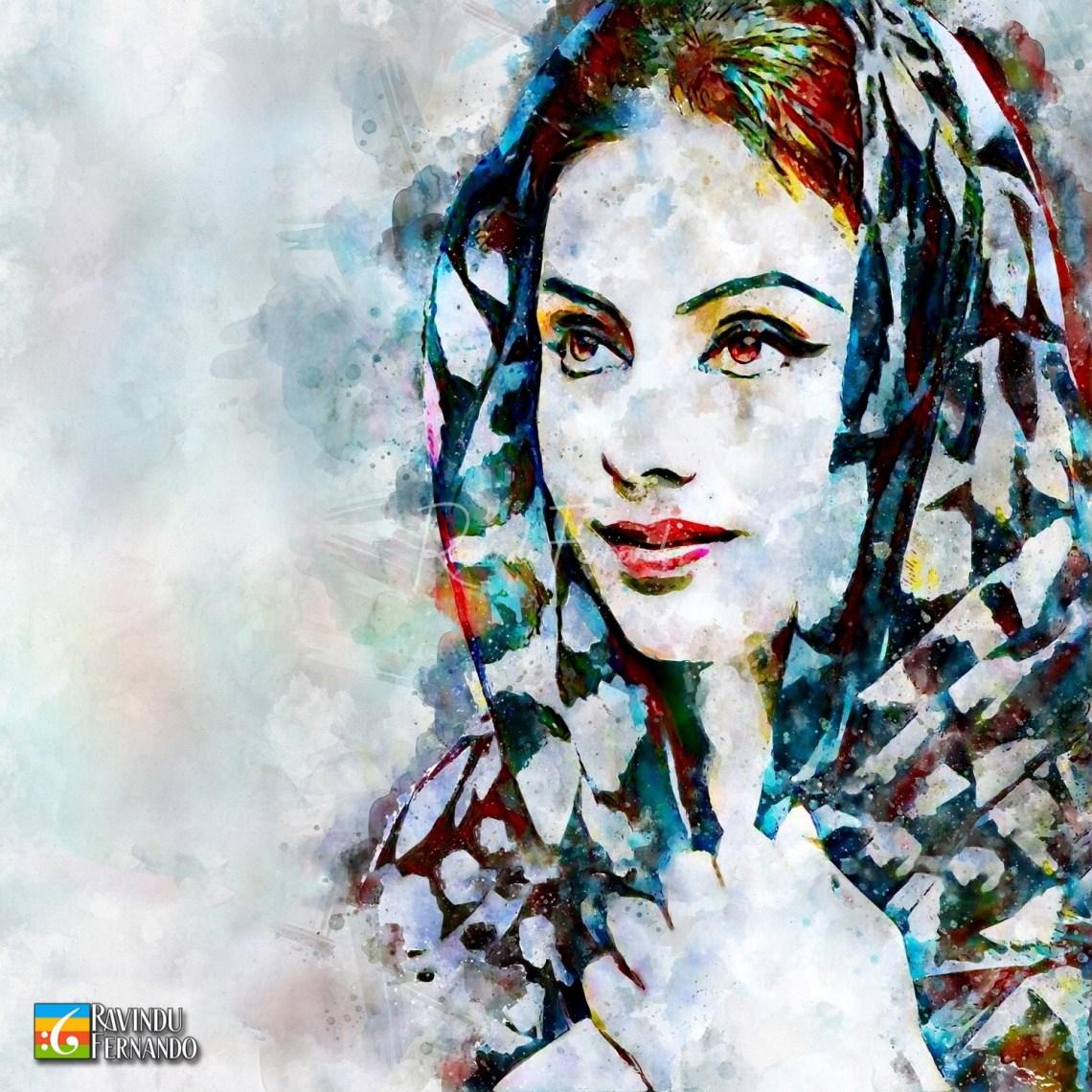 Yashoda Wimaladharma - Digital Watercolor Painting