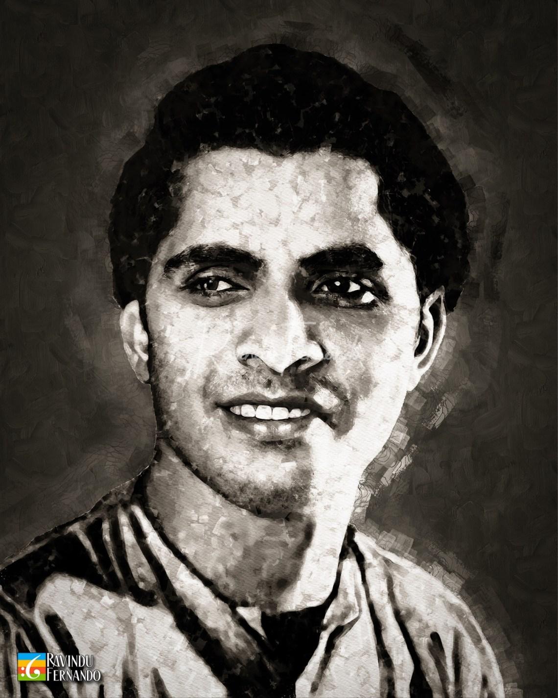 Sunil Shantha - Digital Watercolor Painting
