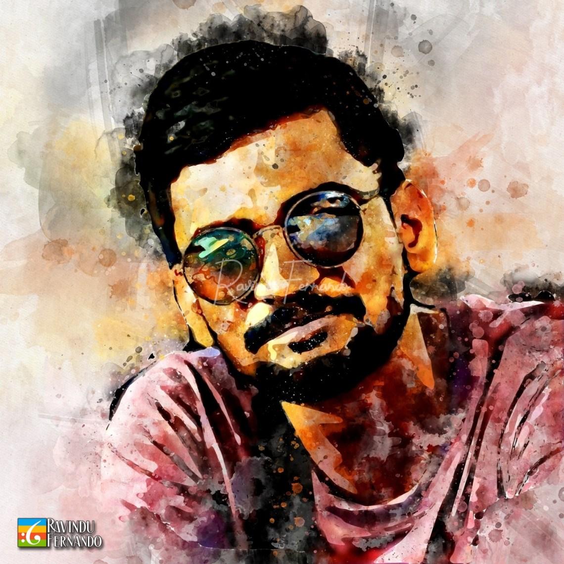 Randika Gunathilake - Digital Watercolor Painting