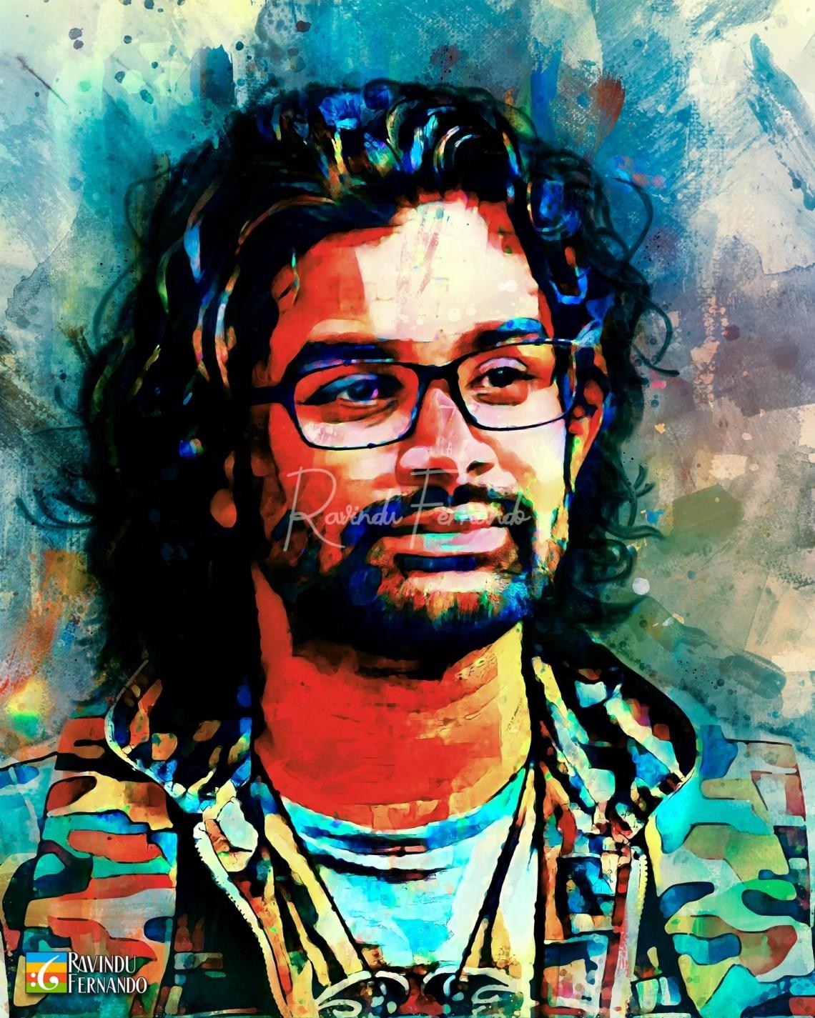 Darshana Gayan Vithana - Digital Watercolor Painting