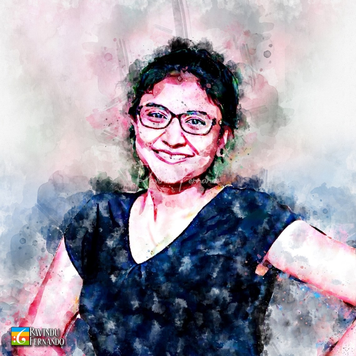 Anupama Galkadawala - Digital Watercolor Painting