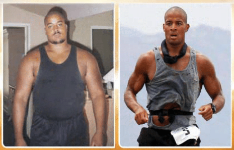 David Goggins from fat to fit