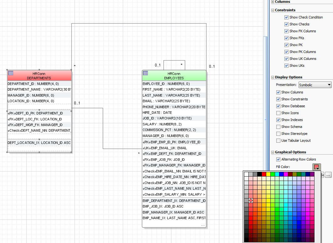 Database Modeling In Jdeveloper Ravi Teja S Techcollect Blog