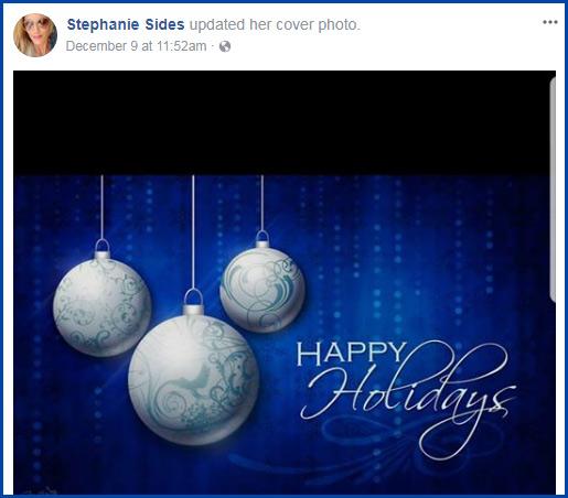 Stephanie Sides Happy Holidays
