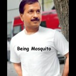 "Arvind Kejriwal to launch ""Being Mosquito"" T-shirts"