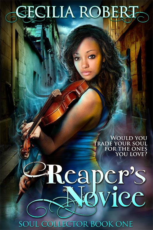 Reaper's Novice Book Cover Art