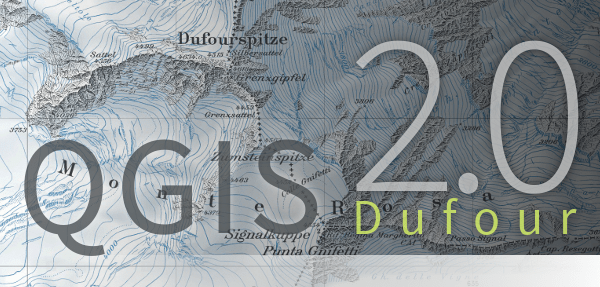 QGIS 2.0 logo splash screen