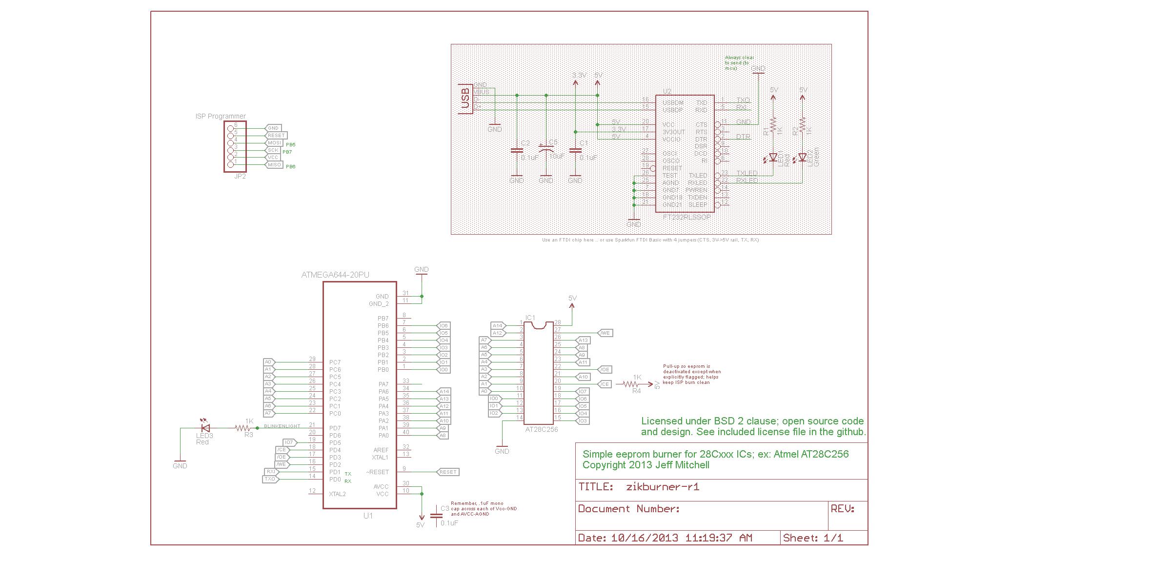 Project Atmega Based Eeprom Programmer