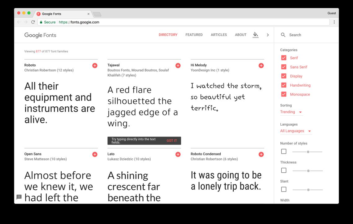fonts.google.com