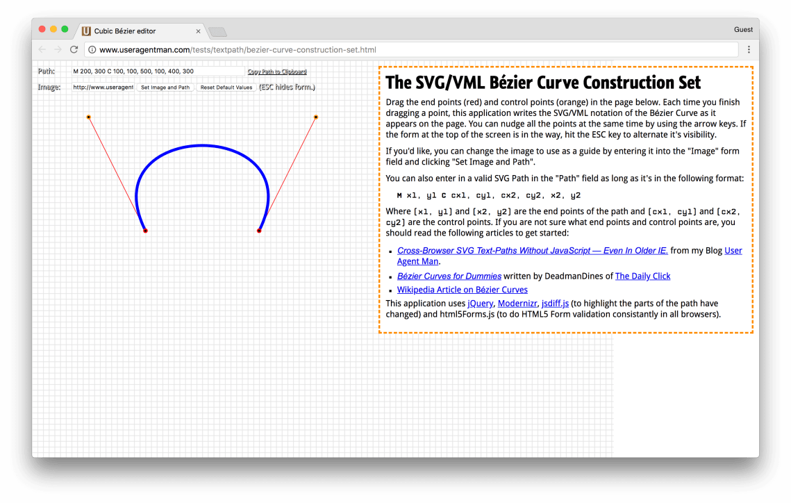 useragentman.com/tests/textpath/bezier-curve-construction-set