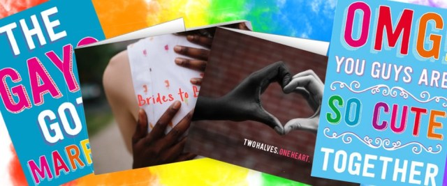 The best gay wedding cards