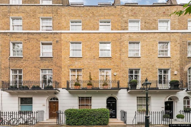Hollywood director Roland Emmerich has put his London house on the market...