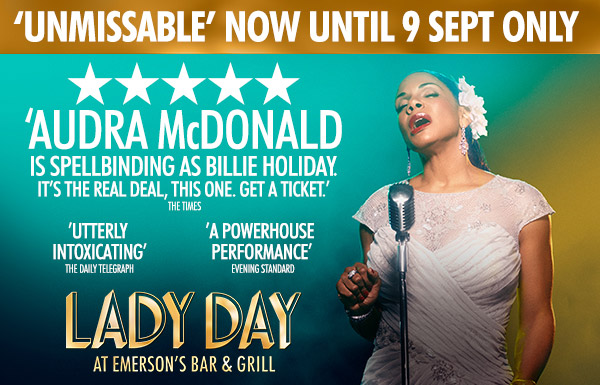 Book tickets for Lady Day at the Wyndham's Theatre