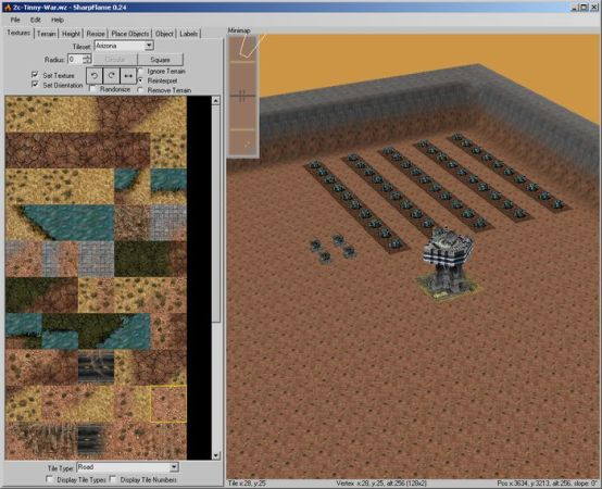 Mac OS  NSView  OpenTK and NullReferenceException      Issue  330     Left surface shows loaded terrain textures  via GL  and right side is the  3D rendered map  via GL   On windows and linux everything works perfectly