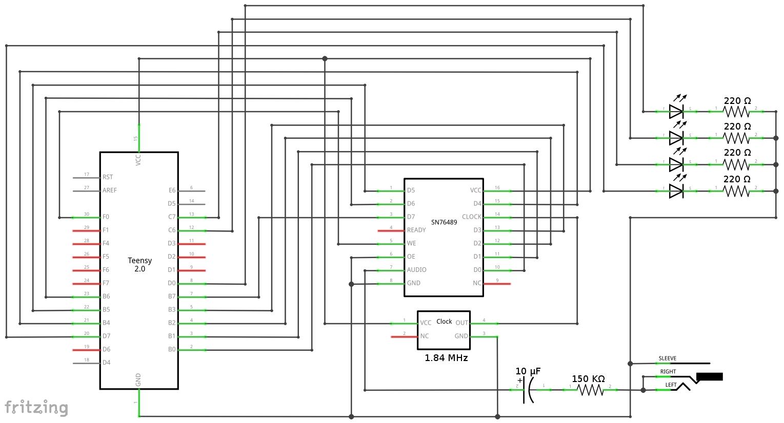 Midi Schematic
