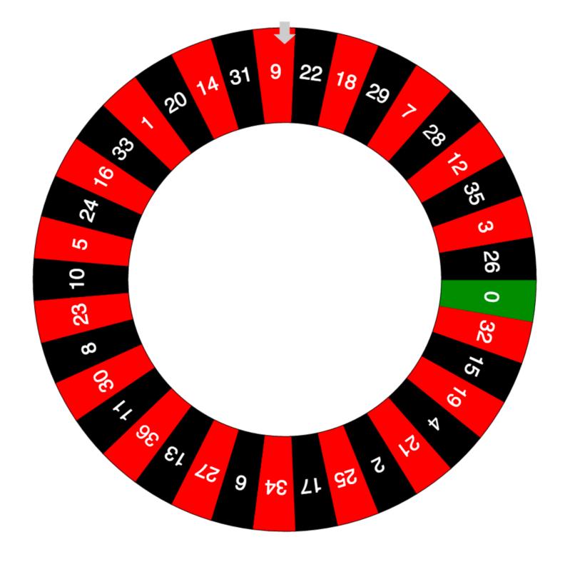 Online Roulette Wheel — Free Roulette