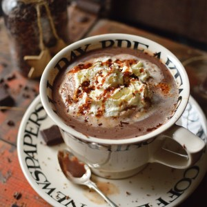 Oat Milk Hot Chocolate