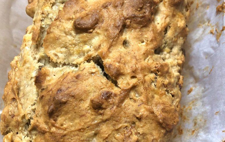baked gluten free banana bread
