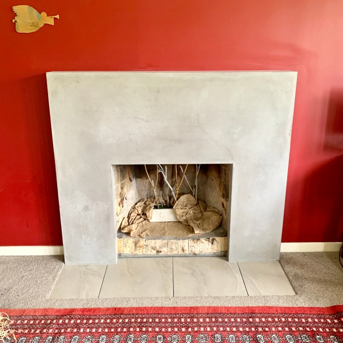 Fireplace Surround – Private Client