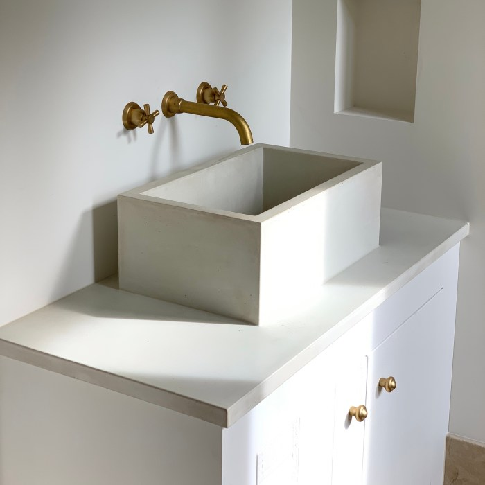 Custom Vanity and Basin – Private Client