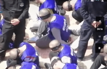Chinese Ambassador Struggles To Explain Shocking Footage Of Handcuffed & Blindfolded Uighurs Loaded Onto Train - rawconservativeopinions