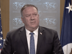 Pompeo Offers $10 Mill Reward For Information On Foreign Election Interference