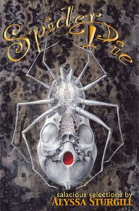 Spider Pie bizarro horror short story collection cover art