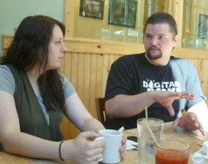 Discussing books