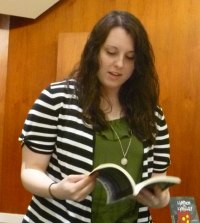 Stephanie Wytovich at Bexley Public Library