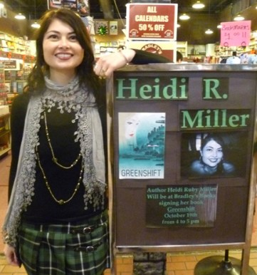 Heidi Ruby Miller at Bradley's Books